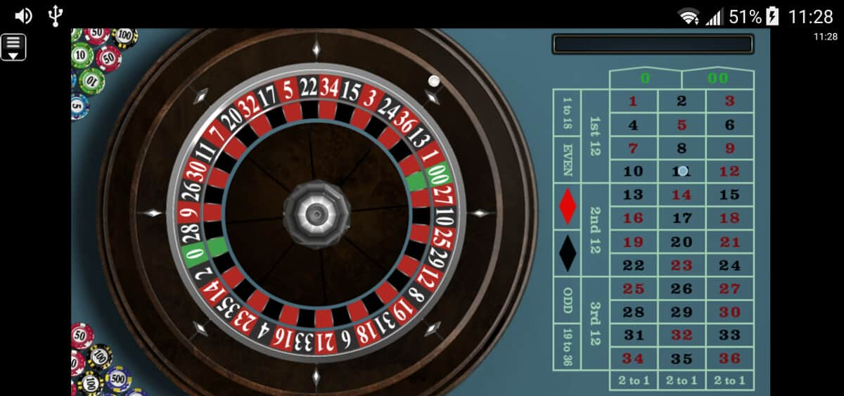 mobile online roulette