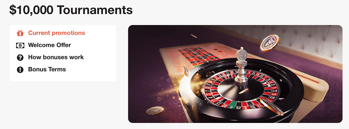 Play the LeoVegas August Roulette Tournaments and win up to $3000