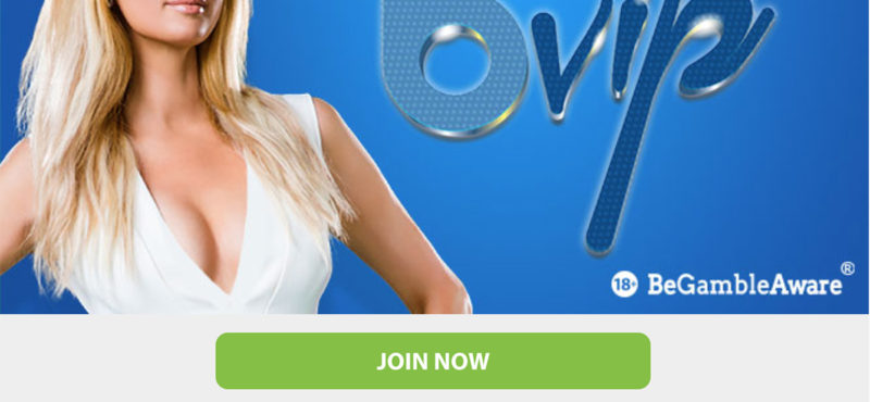 Join the BGO bVIP loyalty program
