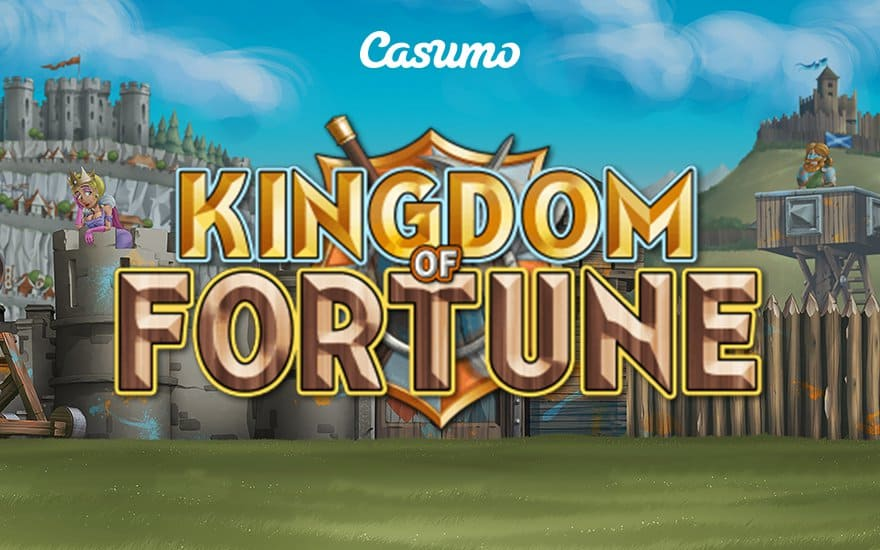 Strike it rich with Kingdom of Fortune slots game from Casumo